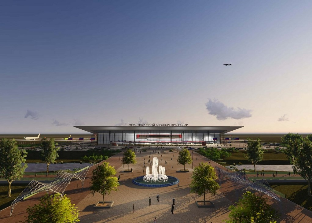 Строительство нового аэровокзала в Краснодаре начнут весной 2021 года